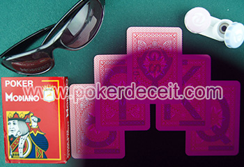 modiano cristallo marked cards